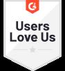 G2 Badge: Users Love Us