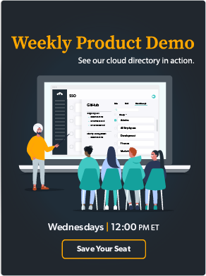 Sign up for JumpCloud's Weekly Product Demo