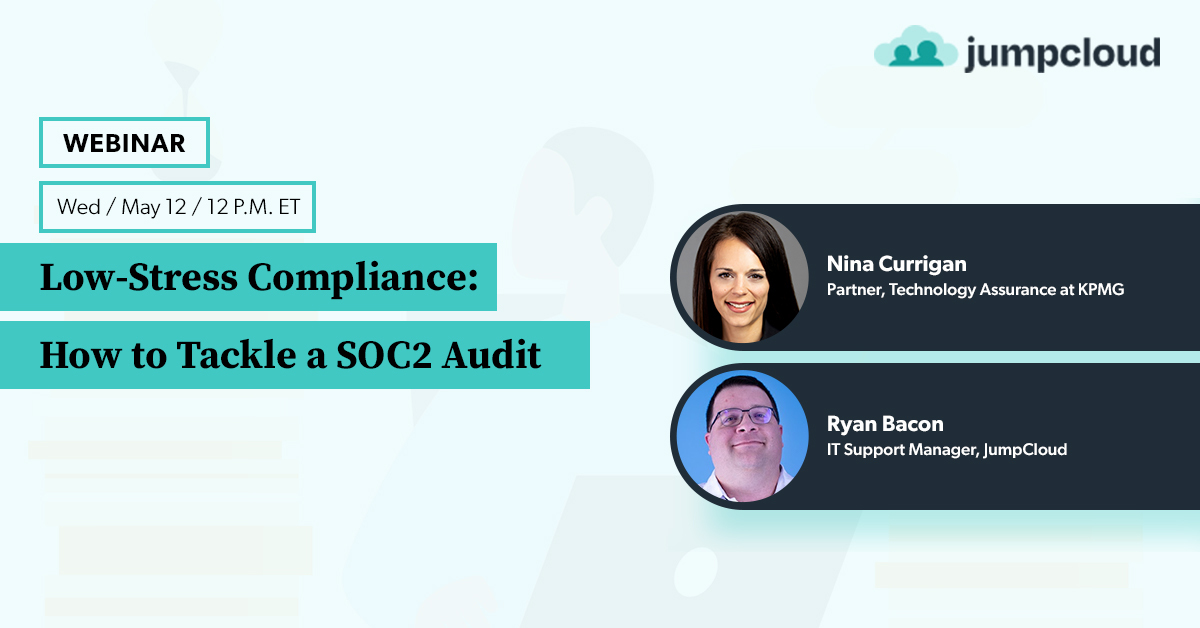 Low-Stress Compliance: How to Tackle a SOC 2 Audit Webinar Banner