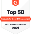 top 50 products for cloud it management