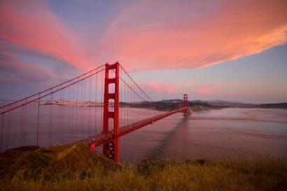 Golden Gate Bridge, San Fransisco, California.