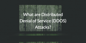 What are Distributed Denial of Service (DDOS) Attacks?