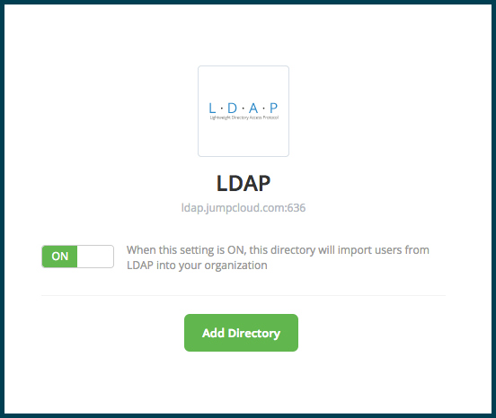 LDAP add directory
