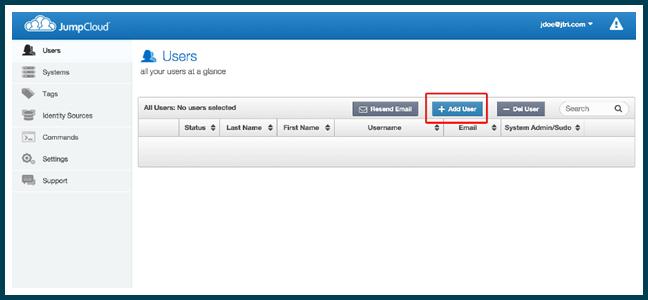 jumpcloud add user