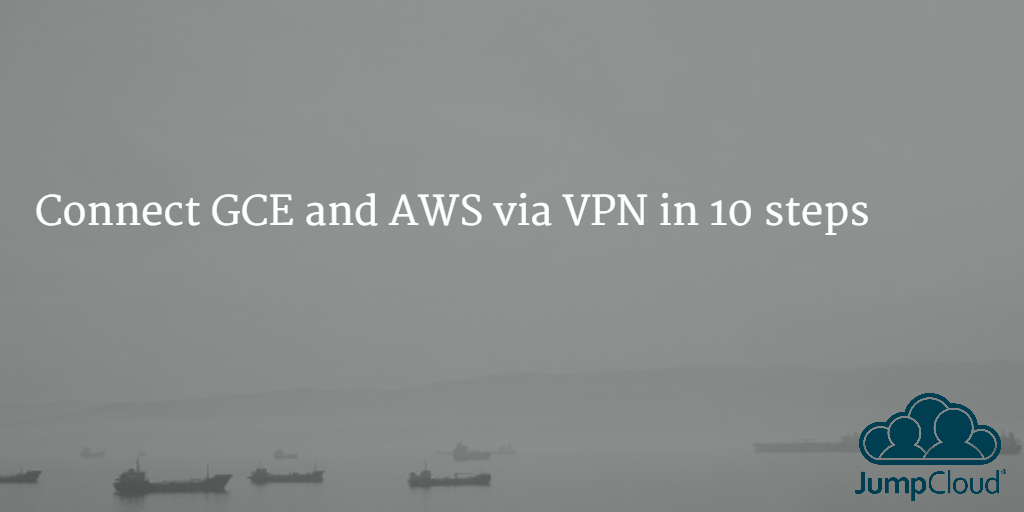 Connect GCE and AWS