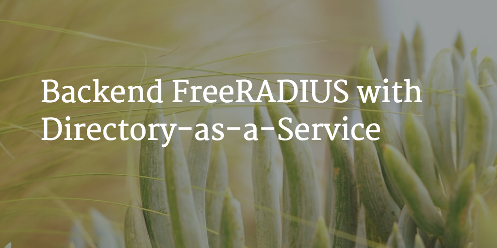 Backend FreeRADIUS