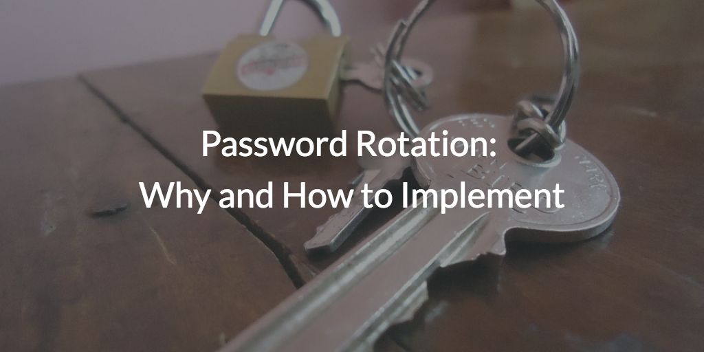 password management implementation