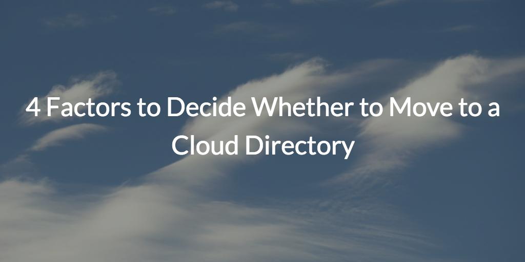 cloud directory service