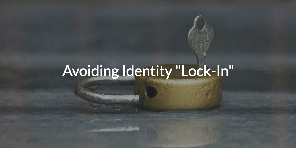 avoid identity lock directory-as-a-service