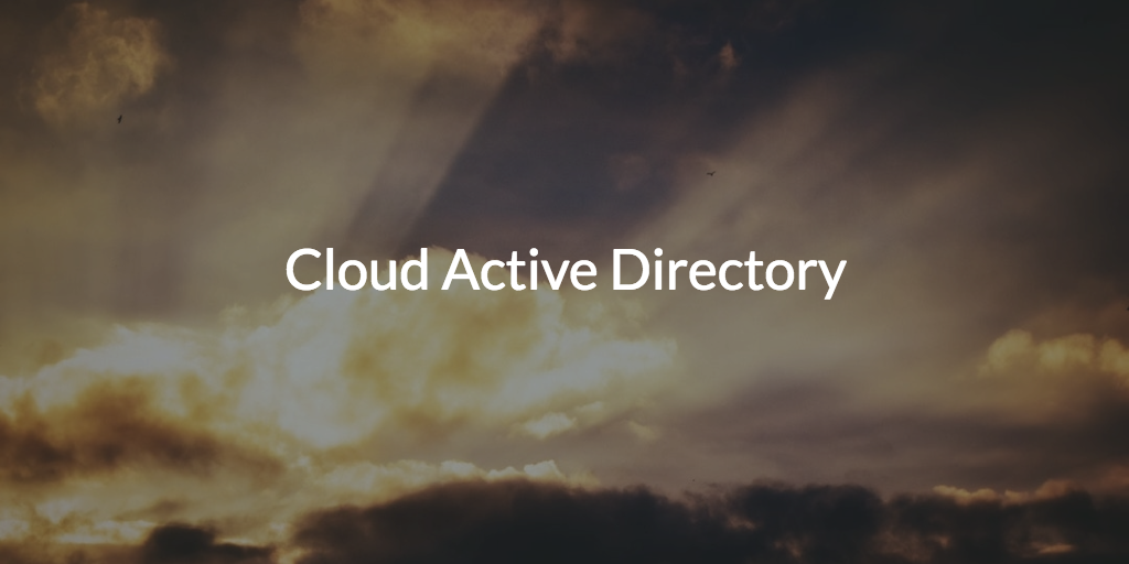 cloud active directory replacement