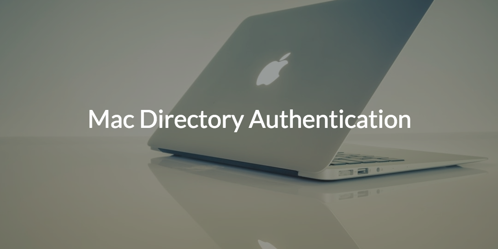 mac directory authentication