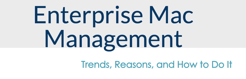 mac management enterprise