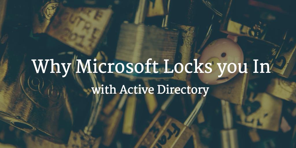 Microsoft lock in active directory