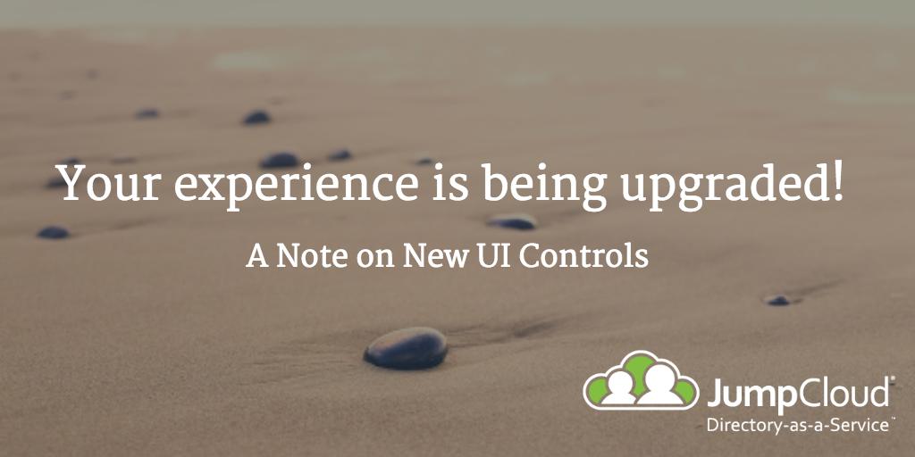 new UI controls