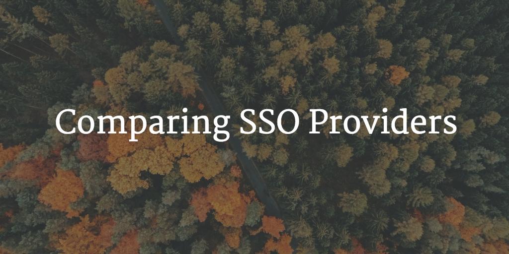 comparing SSO