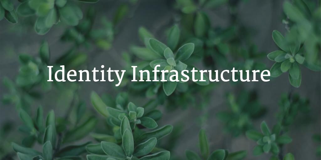 identity infrastructure