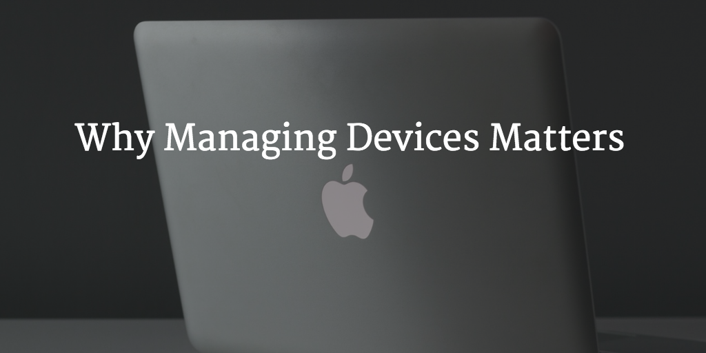 managing machines