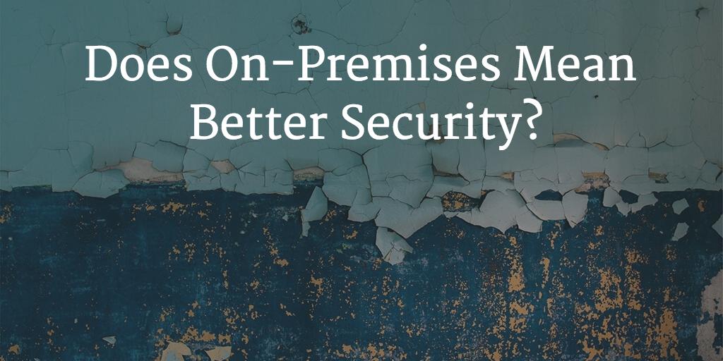 on premises security