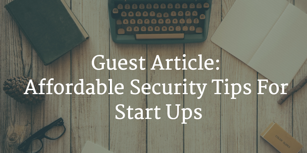 security tips startups