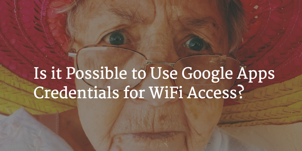 use google apps for wifi