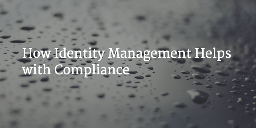 identity management compliance