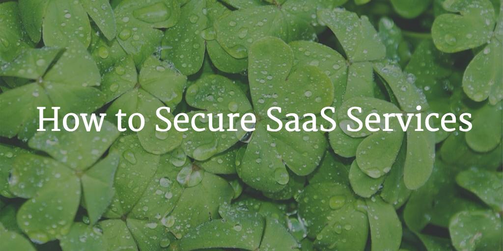 secure saas services