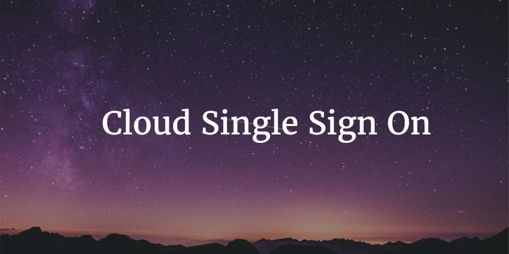 single sign service