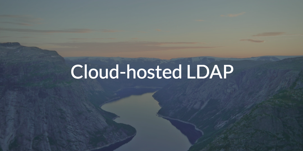 Cloud-hosted LDAP