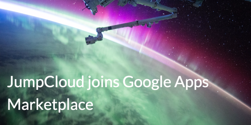 JumpCloud Joins google apps