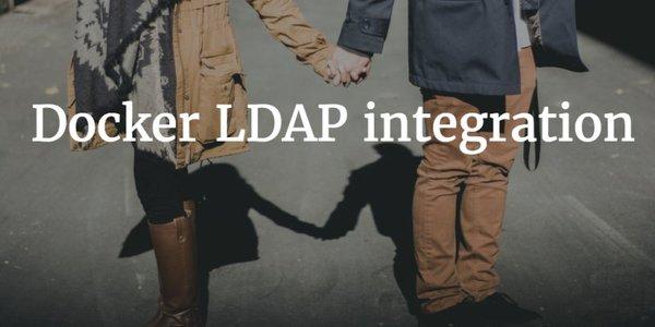 Docker LDAP integration   JumpCloud