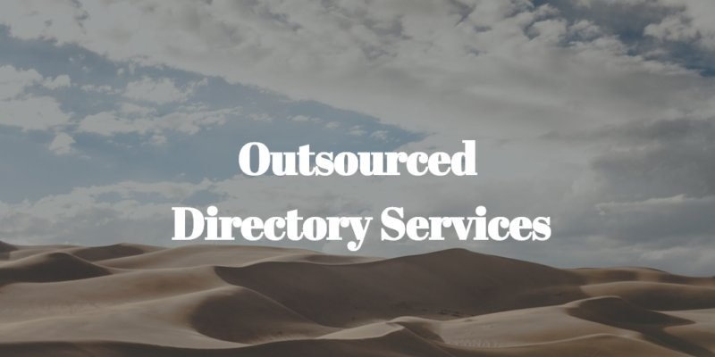 outsourced directory services