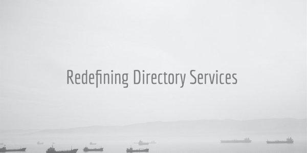 redefining directory services