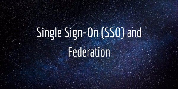 sso and federation
