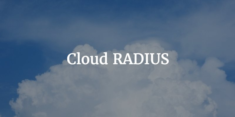 cloud radius