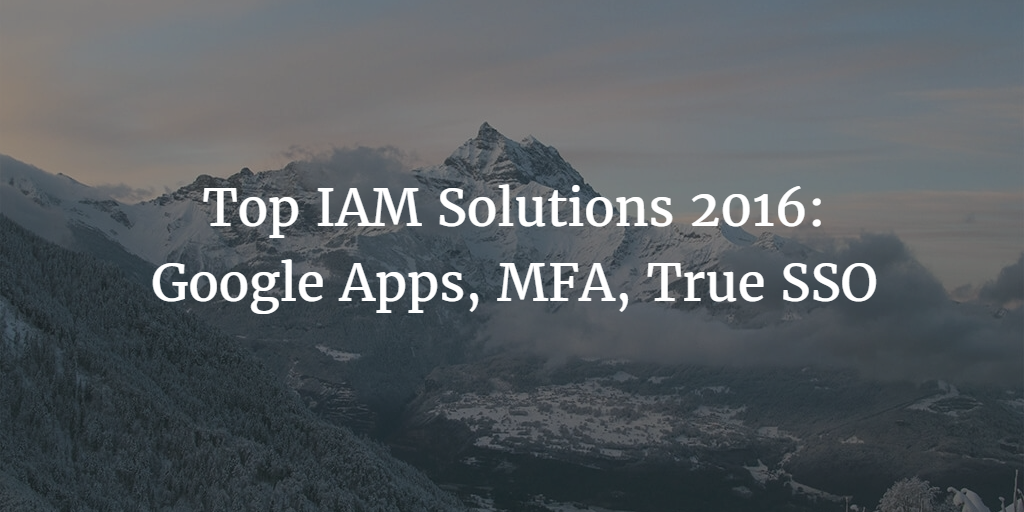 top iam solutions