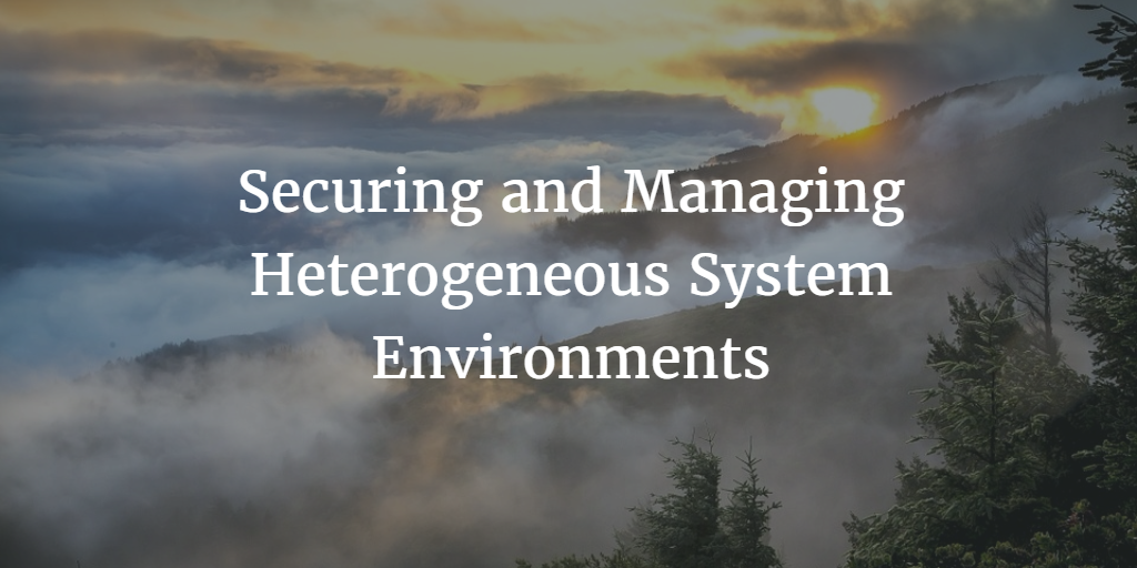 Securing and Managing Heterogeneous System Environments