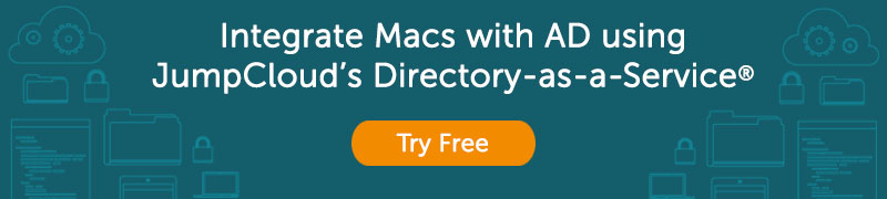 Mac management with Directory-as-a-Service