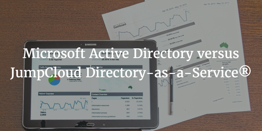 Microsoft Active Directory versus JumpCloud Directory-as-a-Service