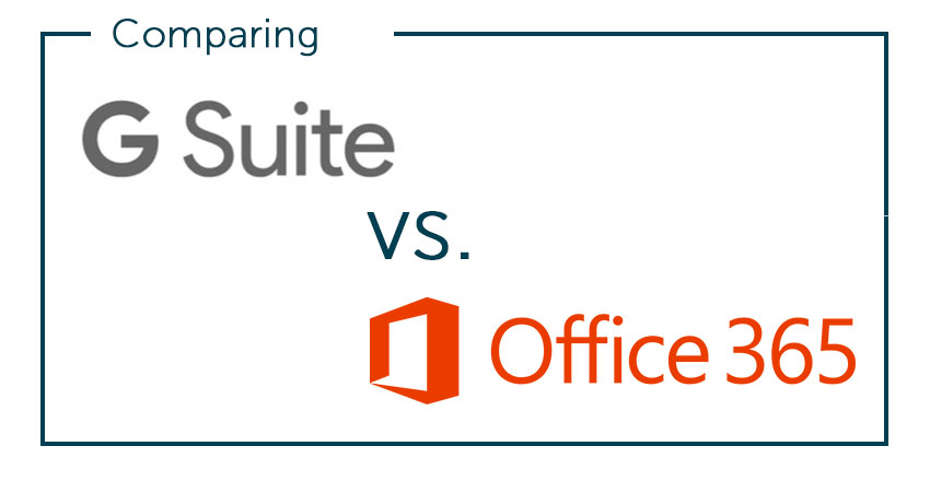 g suite compared to office 365