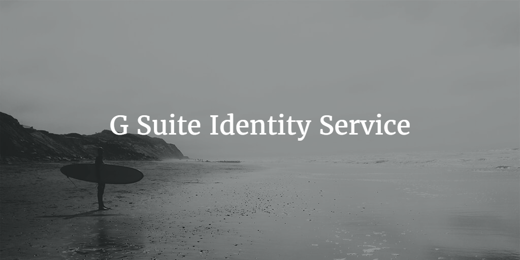 g suite identity service