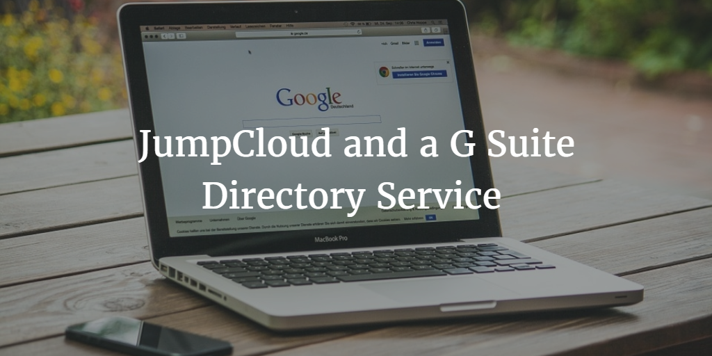 G Suite Directory Service
