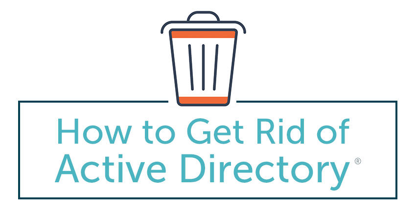 how to get rid of active directory