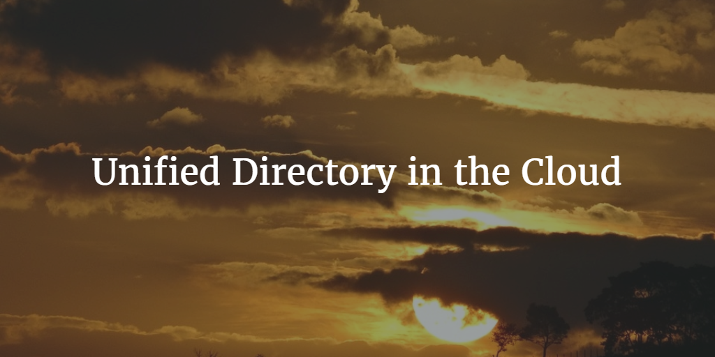 Unified Directory in the Cloud