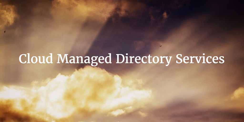 cloud managed directory services