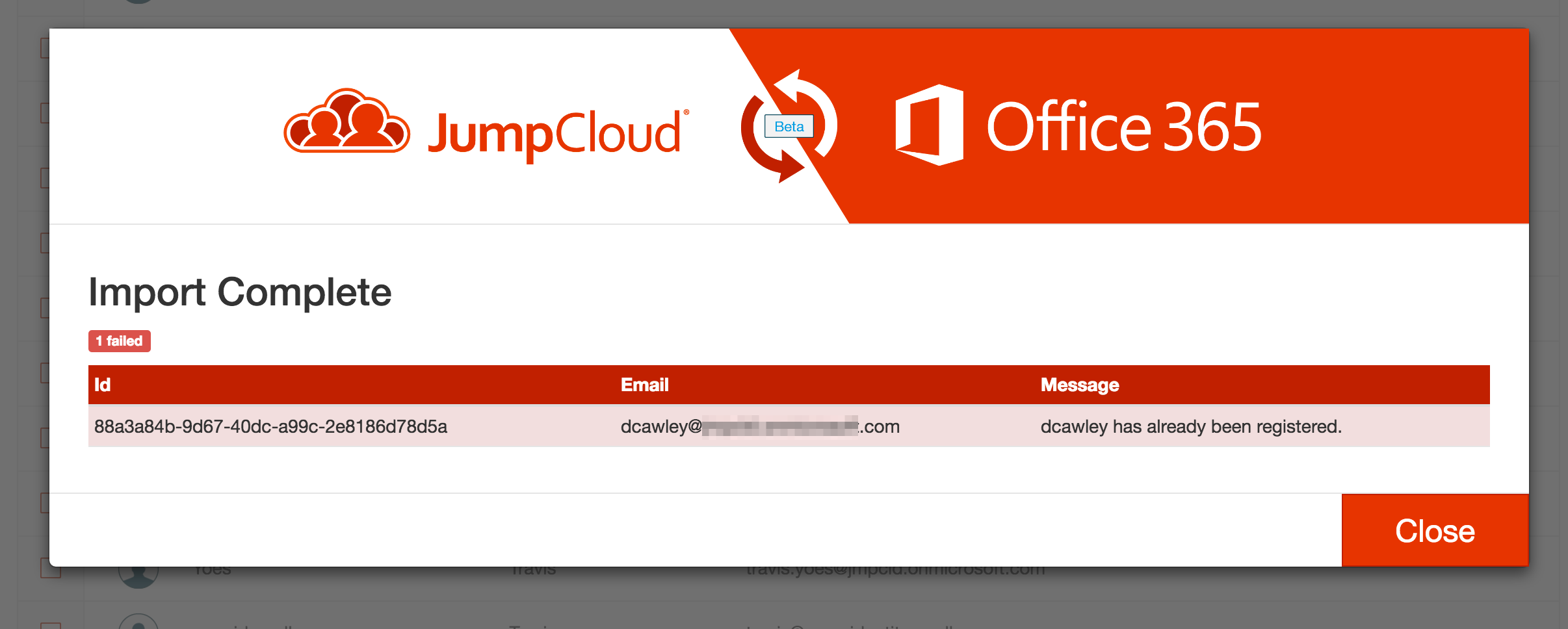 Office 365 and JumpCloud integration