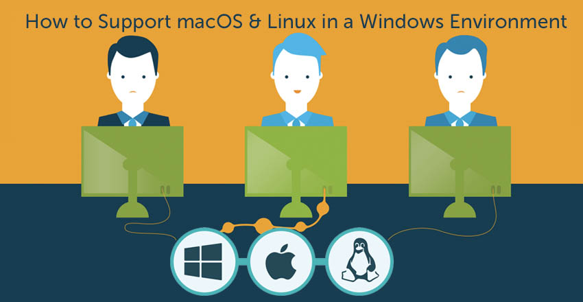 How to support macOS and Linux in Windows environments