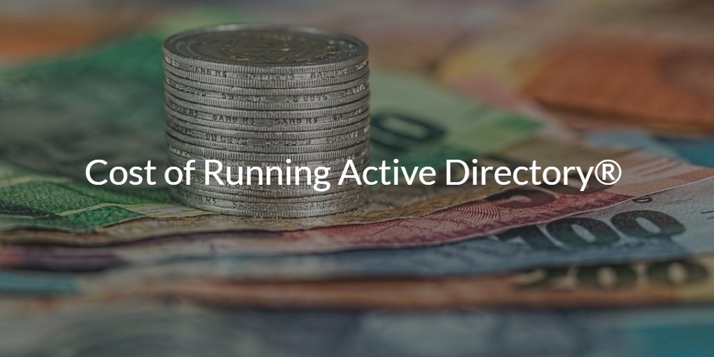 cost of running active directory