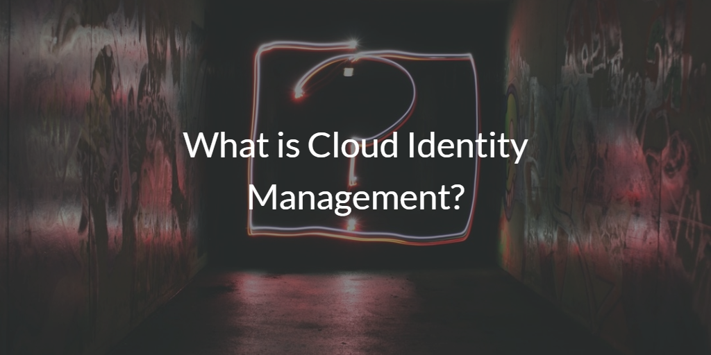 What is Cloud Identity Management