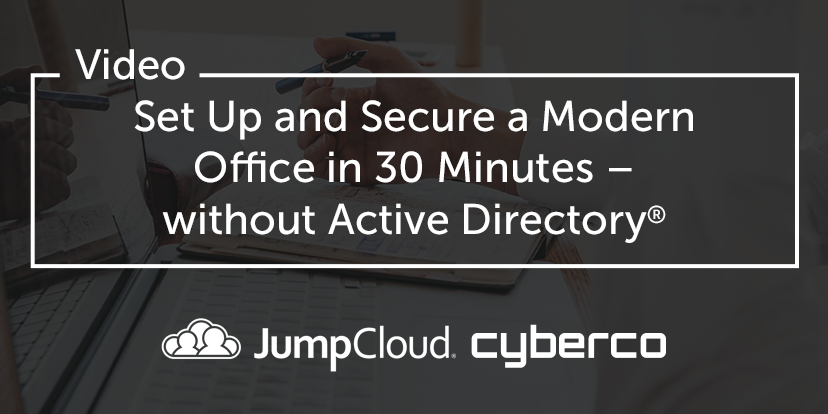 Set Up and Secure Modern Office Without Active Directory