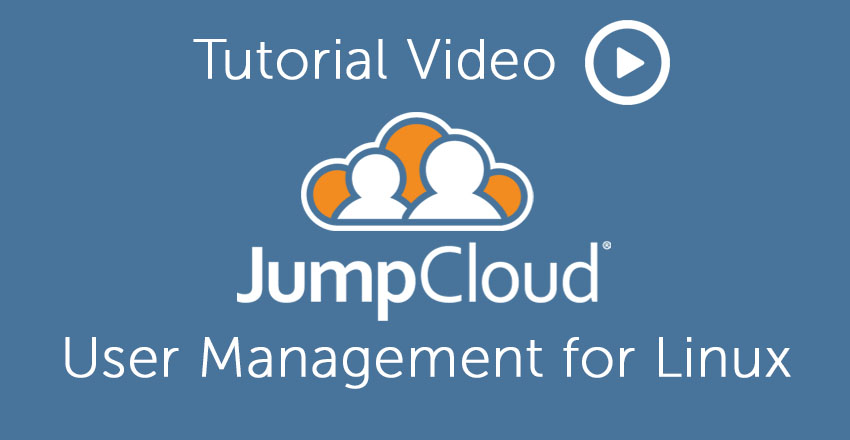 User Management for Linux JumpCloud